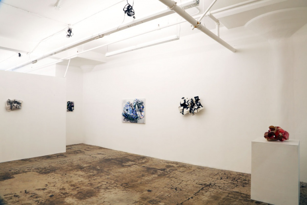 Blind Spot(Post) exhibition view, 2017