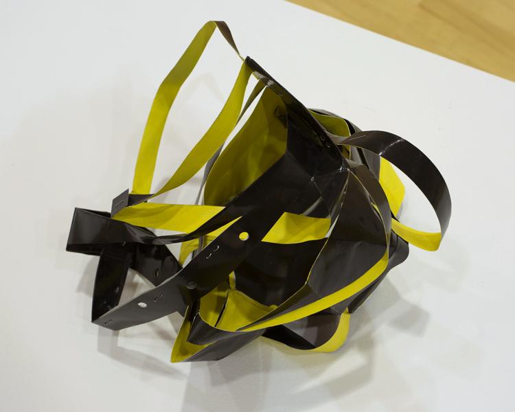 Gucci; paper bag, paint, 7.5X8.5X7