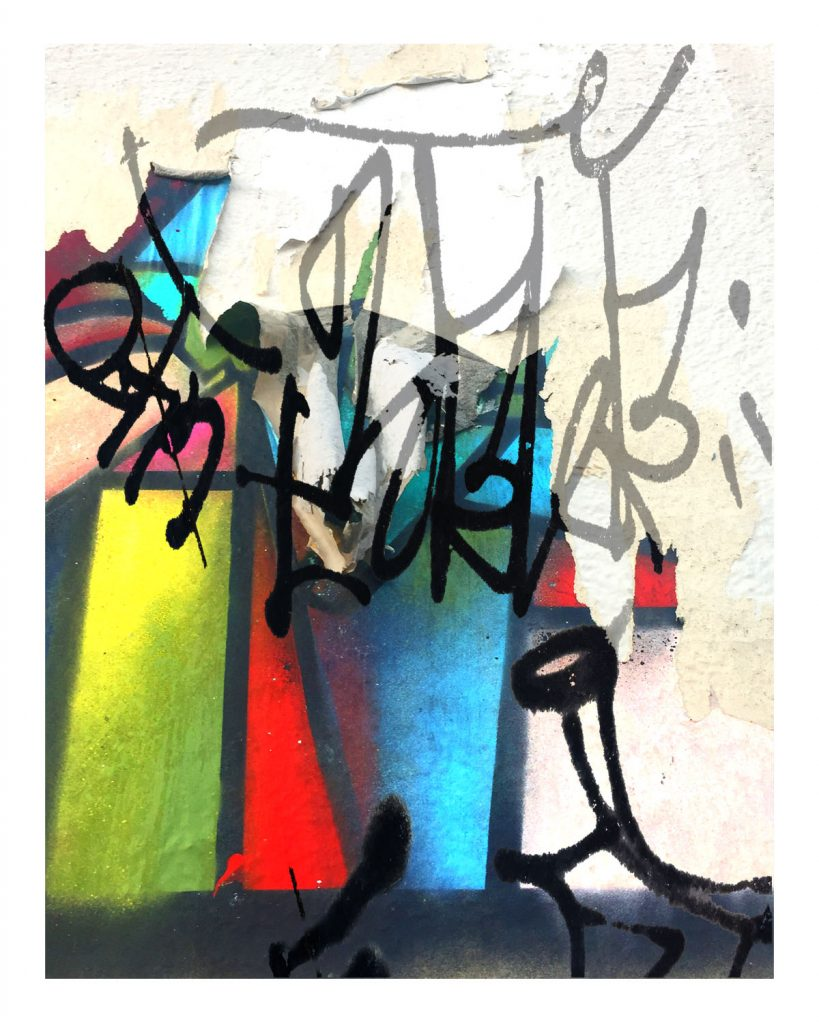 UTO16 acrylic paint, digital print, size varied