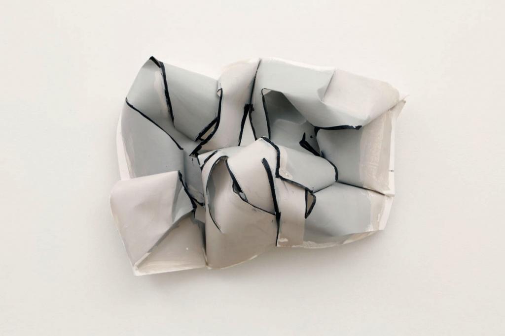 Drought; paper, paint, resin, 13.5X20X3.5