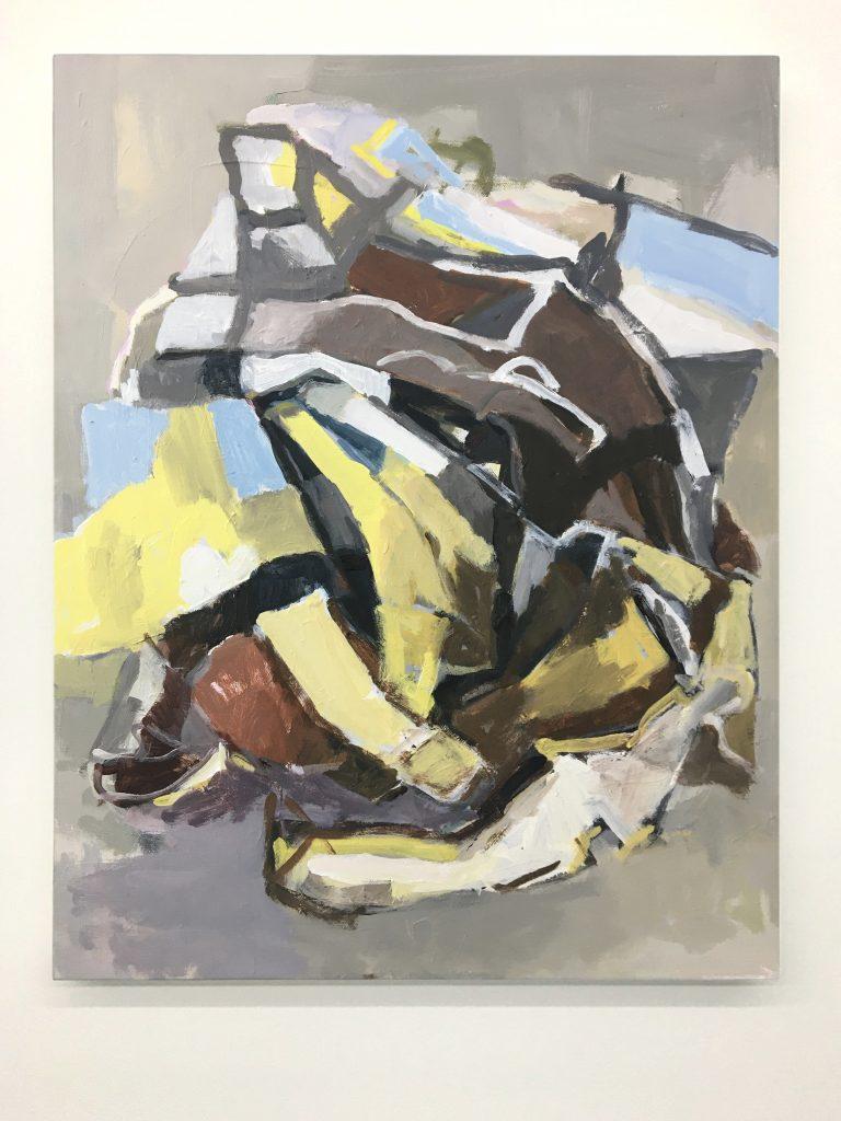 Birdman, Acrylic on canvas, 18X24 2020