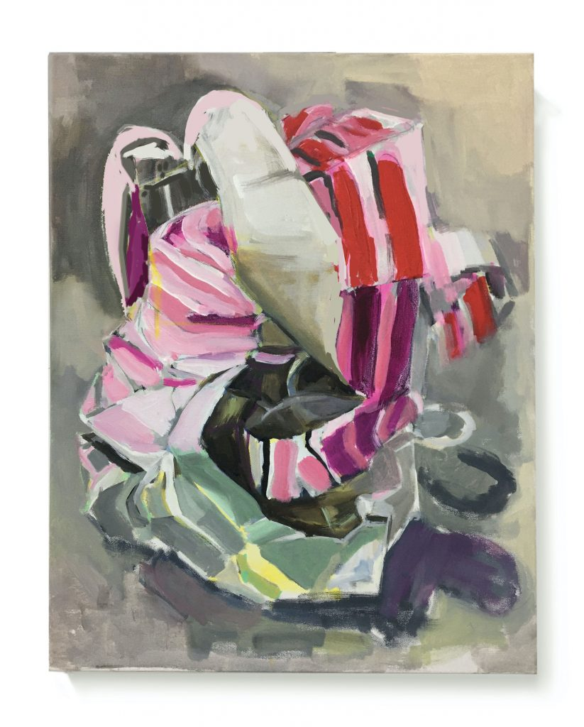 À bout de souffle, 2021, Acrylic on Canvas, 20X24