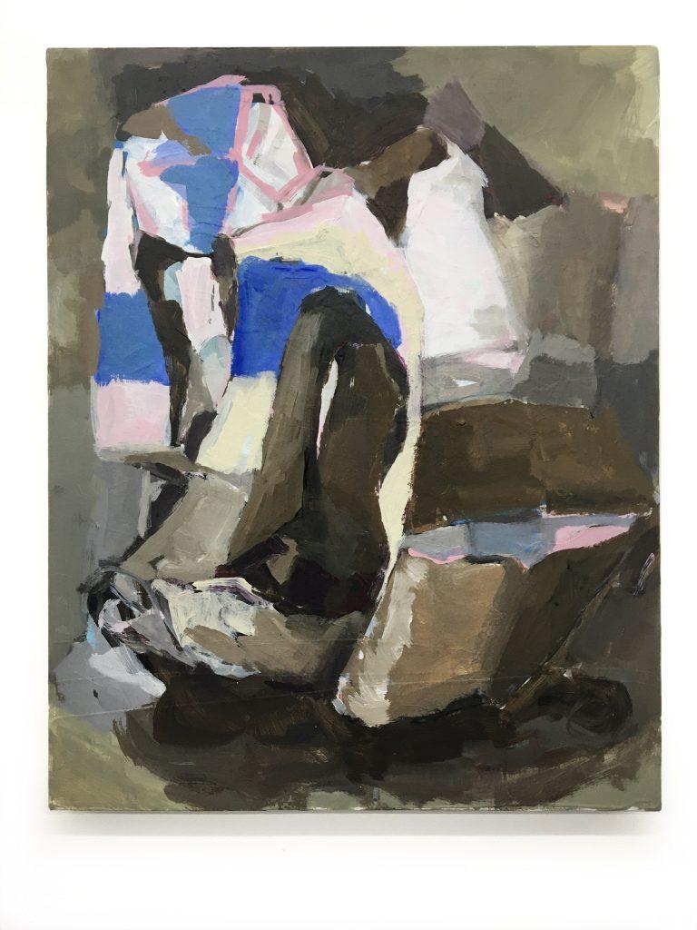 Marni Sweater, 2021, acrylic on canvas, 16X20