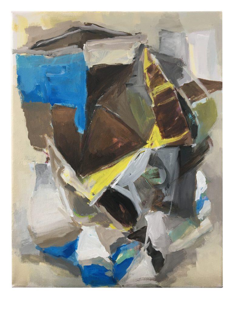 Roman Knight, 2021, acrylic on canvas, 11X14