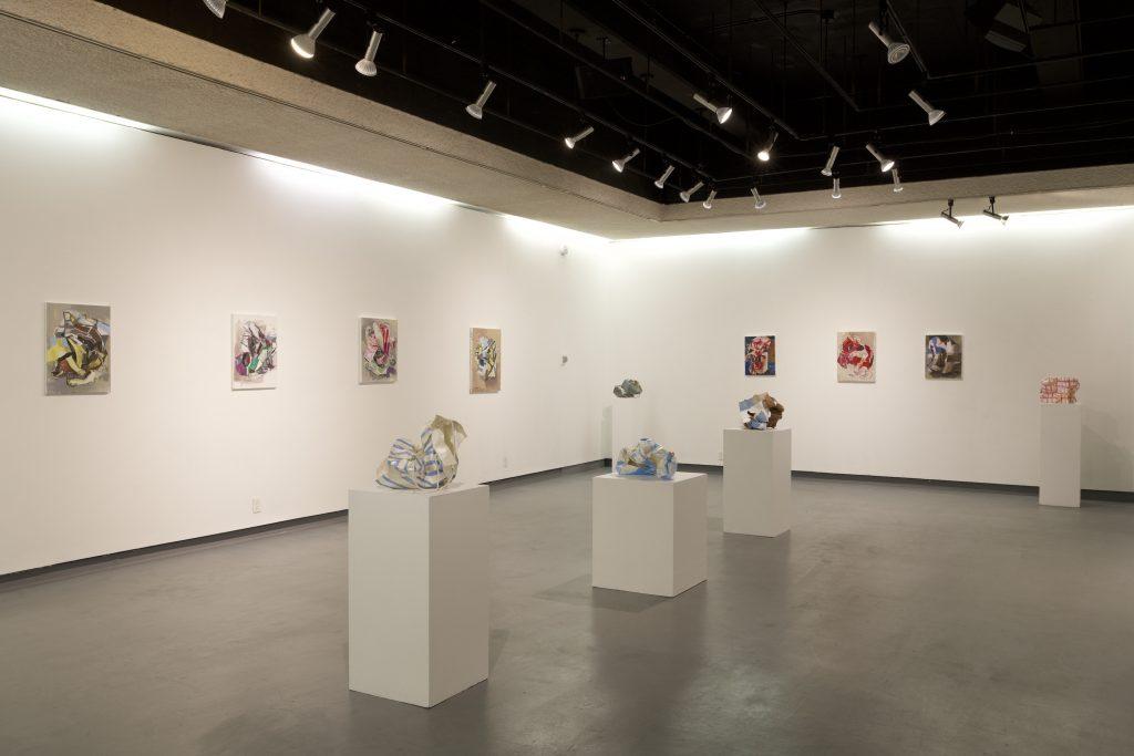 Undique Exhibition view, 2021